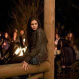 Nina Dobrev en 'Vampire diaries'