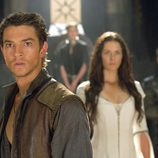 Craig Horner y Bridget Regan