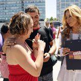 Marisa Gutiérrez en el casting de 'Esta casa era una ruina'