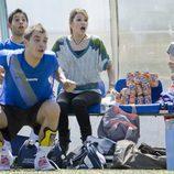Adrian Rodríguez, Sandra Blázquez, Úrsula Corberó y Angy Fernández