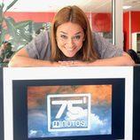 Toñi Moreno, directora y reportera de '75 Minutos'