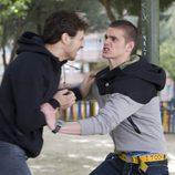 Julio y Rodri pelean