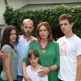 Familia Pardo de la serie 'Hay alguien ahí'