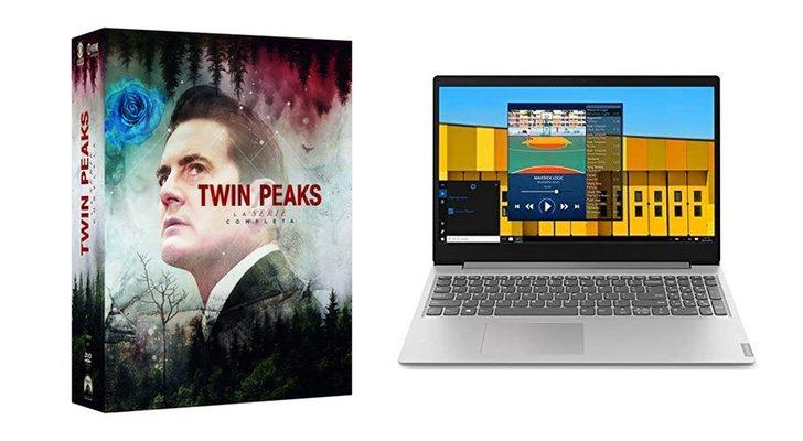 Twin Peaks et ordinateur portable