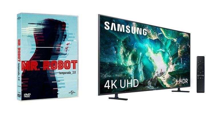 'Monsieur. Robot 'et Smart TV