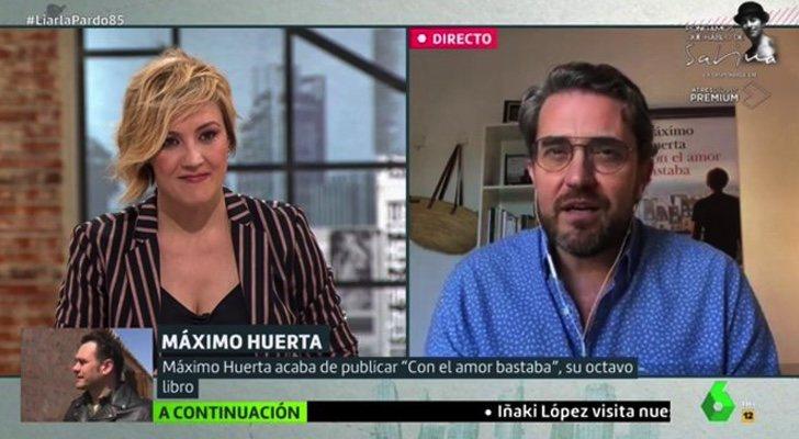 Cristina Pardo et Máximo Huerta, dans «Liarla Pardo»