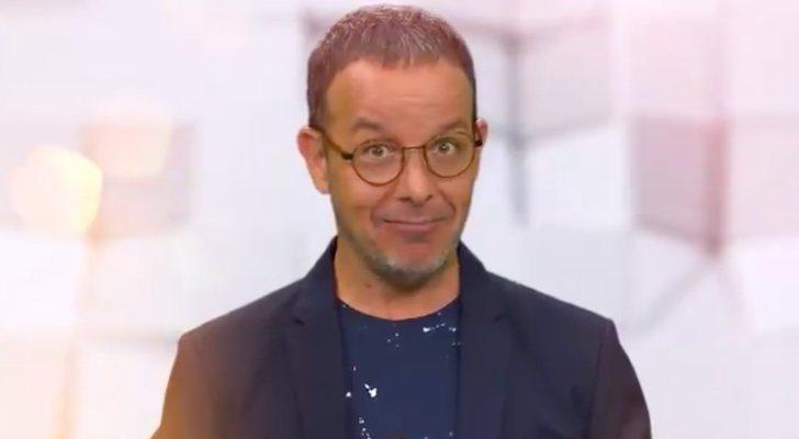 Àngel Llàcer, présentateur de «Bloqué par le mur»
