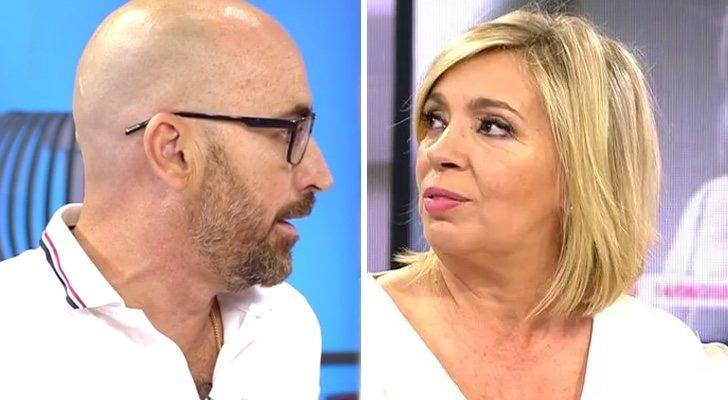 Diego Arrabal discute avec Carmen Borrego dans 'Viva la vida'