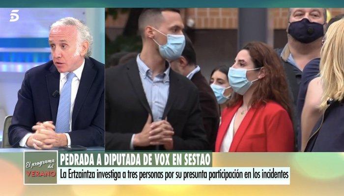 Eduardo Inda, dans «Le programme Ana Rosa»
