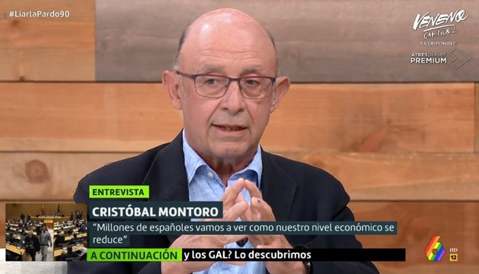 Cristóbal Montoro, dans «Liarla Pardo»