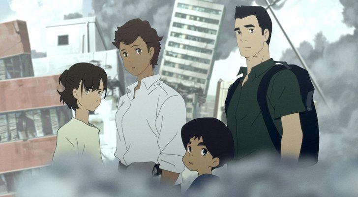 Ayumu et sa famille dans «Le naufrage du Japon: 2020»