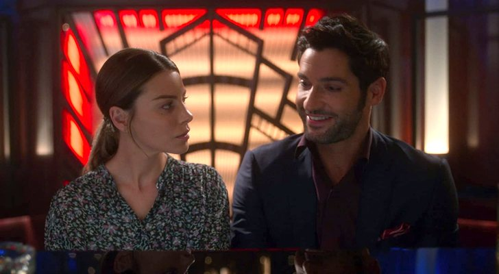 Lauren German et Tom Ellis, protagonistes de 'Lucifer'