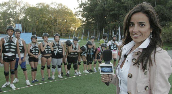 Carmen Alcayde avec quelques candidats de «Guaypaut»