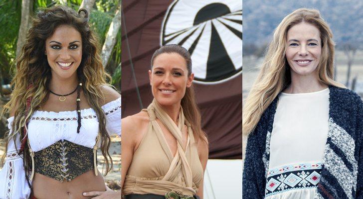 Lara Álvarez, Raquel Sánchez Silva et Paula Vázquez, présentatrices de «Survivientes», «Pekín Express» et «El Puente»
