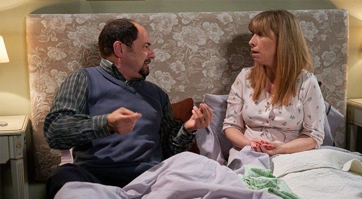 Jordi Sánchez et Nathalie Seseña dans 'La que se avecina'