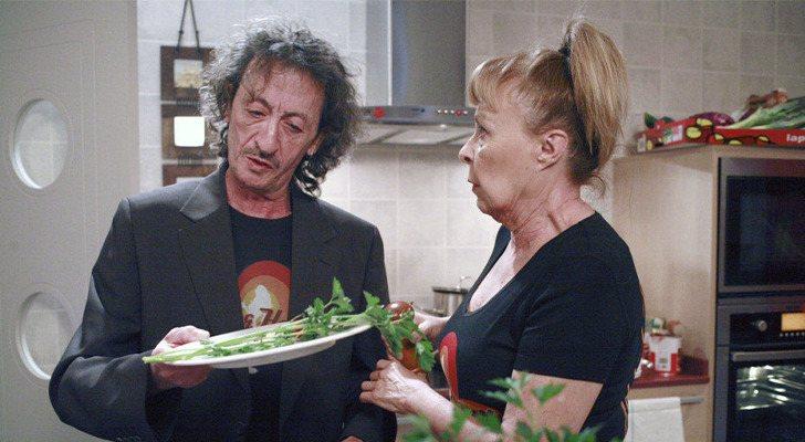 Eduardo Gómez et Gemma Cuervo dans 'La que se avecina'