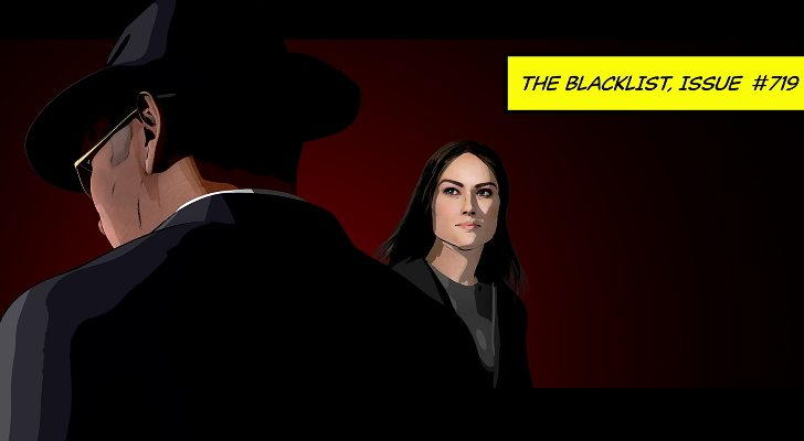 Red et Elizabeth dans 'The Blacklist'