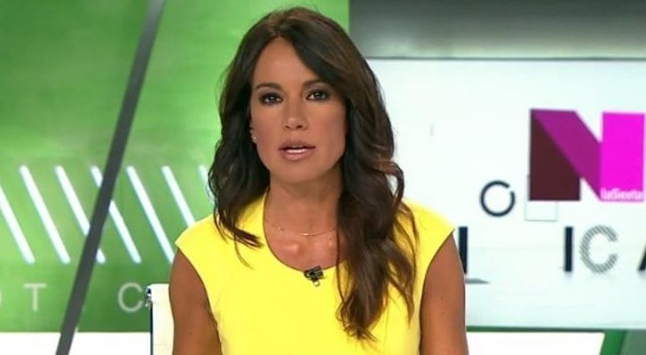 Cristina Saavedra, présentatrice de «laSexta noticias»