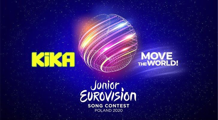 Logos d'Eurovisión Junior 2020 et KiKA, télévision allemande