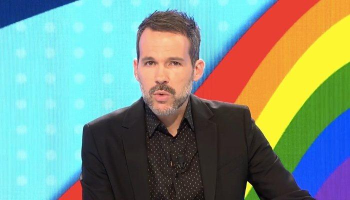 Javier Gómez, présentateur de «Tout est un mensonge», le 3 juillet
