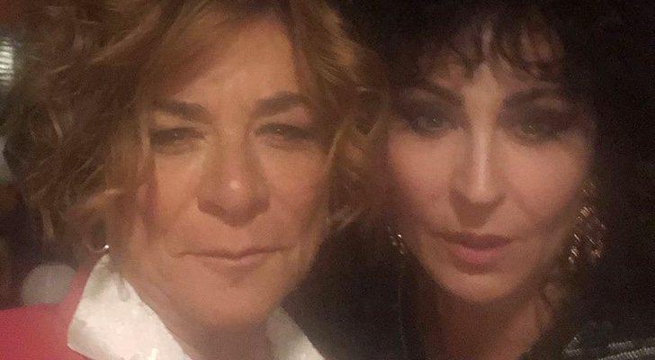 Sonia Martínez et Ana Milán sur le tournage de 'Veneno'