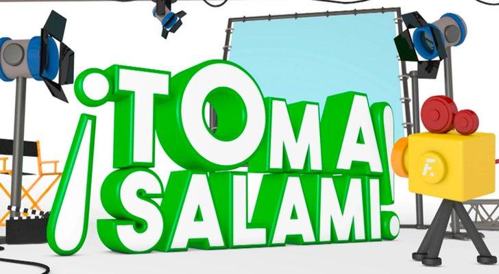 'Prenez le salami!' Logo