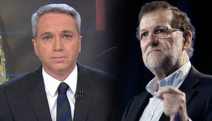 Vicente Vallés et Mariano Rajoy
