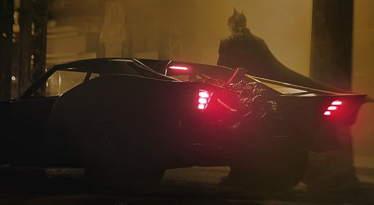 Robert Pattinson comme Batman
