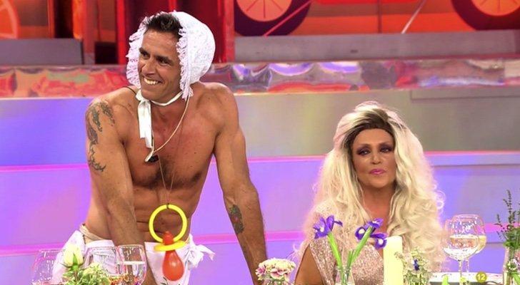 Alonso Caparrós et Lydia Lozano, dans 'The Last Supper'