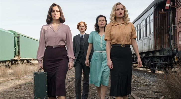 Fin de «The Cable Girls»