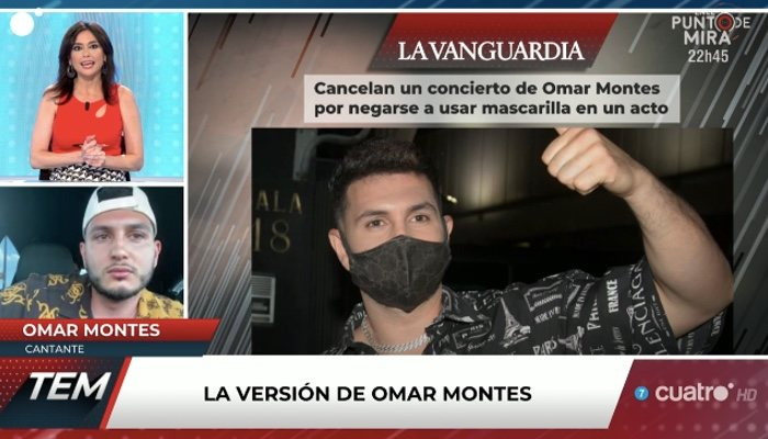 Omar Montes, à propos de