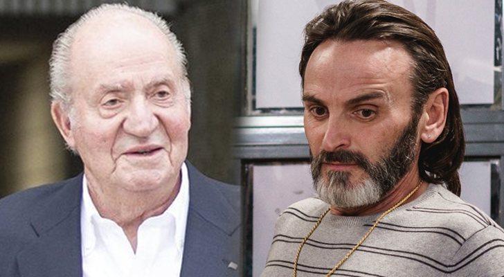 Le roi Juan Carlos I et Fermín Trujillo, le personnage de Fernando Tejero