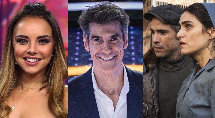Chenoa dans 'TCMS', Jorge Fernández dans 'Le jeu des anneaux' et Unax Ugalde et Olivia Molina dans 'La valla'