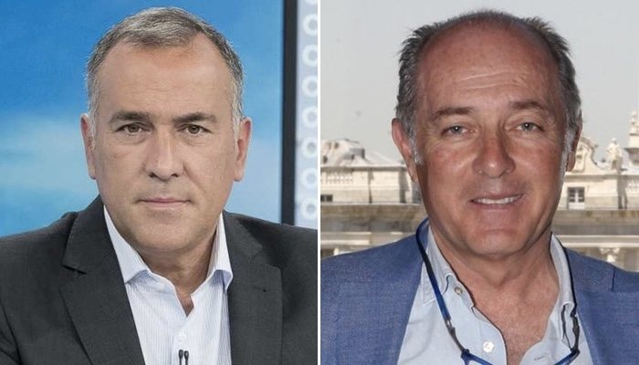 Xabier Fortes et José Manuel Soto