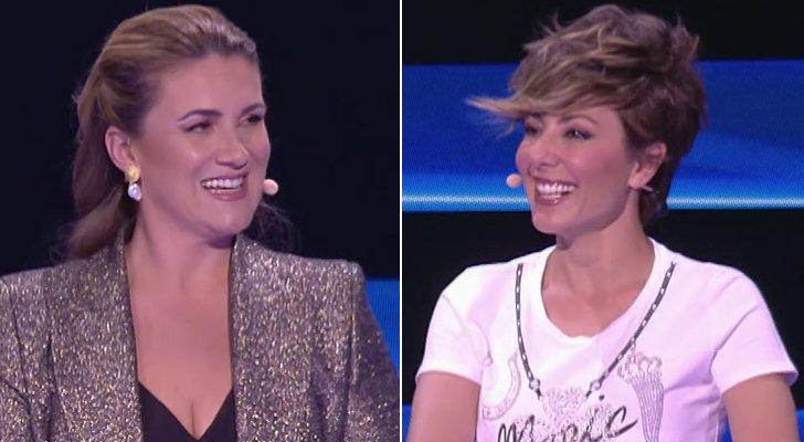Carlota Corredera et Sonsoles Ónega dans 'Devinez ce que je fais ce soir'