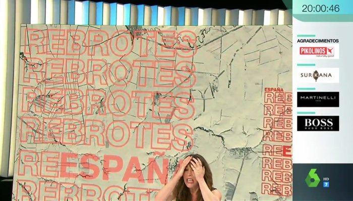 L'image de Mamen Mendizábal à la fin du programme