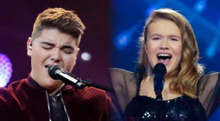 Les représentants de l'Australie et du Pays de Galles à l'Eurovision Junior 2019