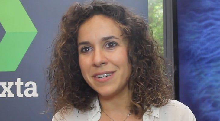 Marta Jar dans une interview pour FormulaTV (2017)
