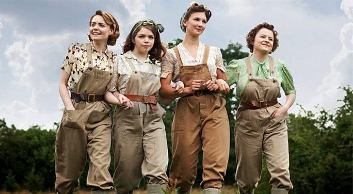 Étoiles de 'Land Girls'