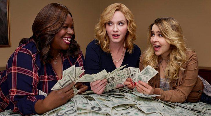 Retta, Christina Hendricks et Mae Whitman dans 'Good Girls'