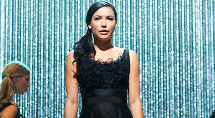 Naya Rivera dans une performance de 'Glee'