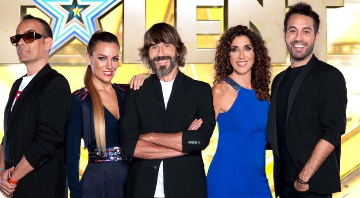 Santi Millán et le jury «Got Talent España 6»