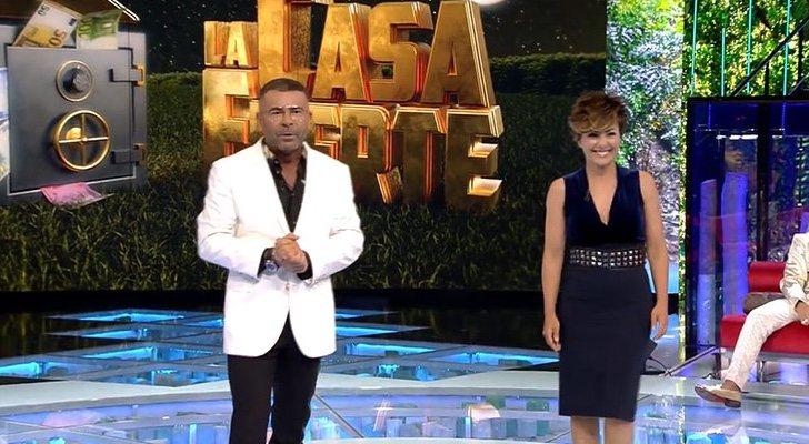 Jorge Javier et Sonsoles Ónega, présentateurs des galas de 'La casa fuerte'