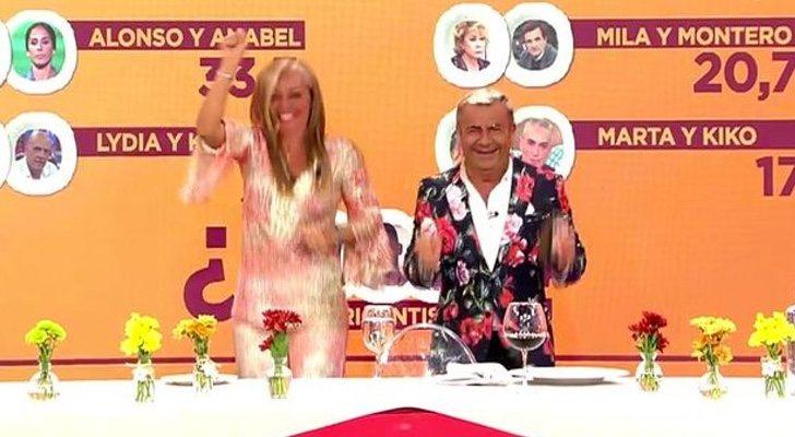 Belén Esteban et Jorge Javier Vázquez, finalistes de 'The Last Supper'