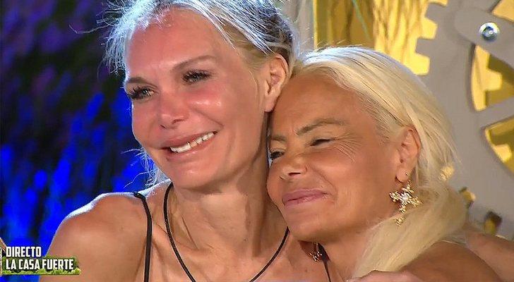 Yola Berrocal et Leticia Sabater dans 'La casa fuerte'