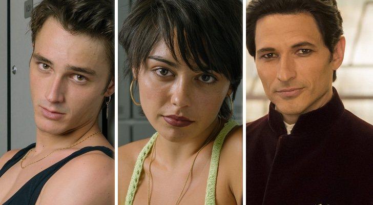 Pol Granch, Carla Díaz et Andrés Velencoso, signatures de la quatrième saison de 'Élite'