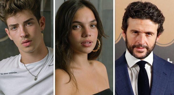 Manu Ríos, Martina Cariddi et Diego Martín, dédicaces de la quatrième saison de 'Élite'