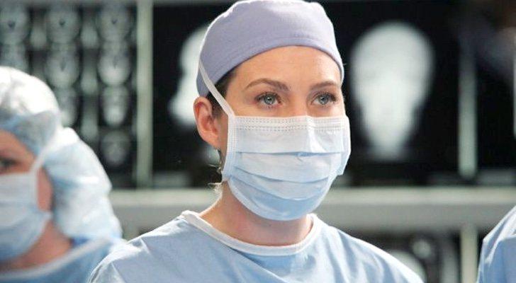 Meredith Gray (Ellen Pompeo) dans une séquence de 'Grey's Anatomy'