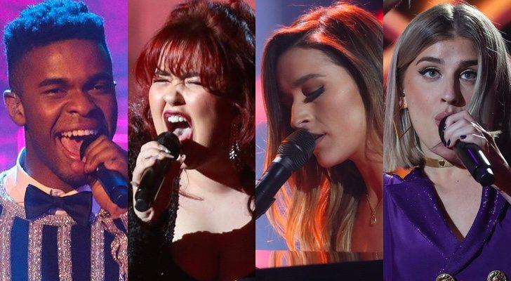 Famous et Belén Aguilera chanteront avec Ariadna et Samantha lors des concerts 'OT 2020'