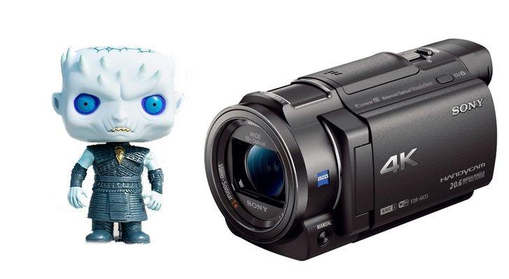 Funko et caméra vidéo Game of Thrones